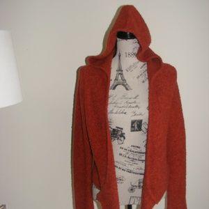 Vic Secret Moda International Boucle Cardigan Hood